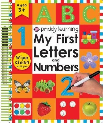 My First Letters and Numbers (Paperback): Roger Priddy