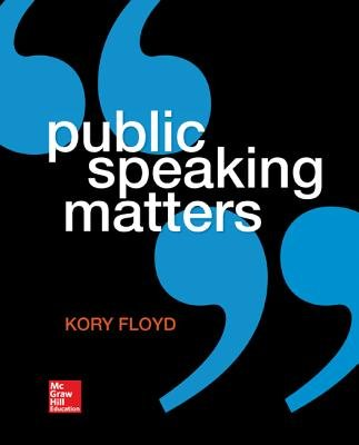 Learnsmart Standalone Access Card for Public Speaking Matters (Online resource): Kory Floyd
