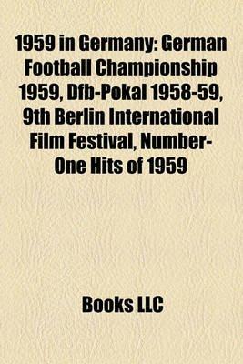 1959 in Germany - German Football Championship 1959, Dfb-Pokal 1958