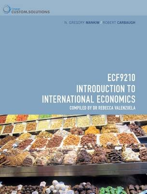 CP0820: ECF9210 - Introduction to International Economics (Paperback): Gregory Manikiw, Robert Carbaugh