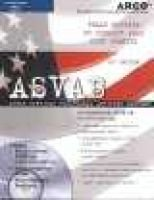 Asvab with CDROM - Armed Services Vocational Apptitude Battery (Book, 18th): Petersons
