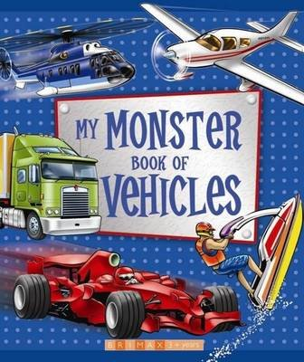 My Monster Book of Vehicles (Hardcover):