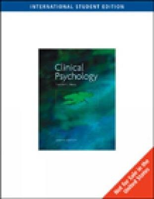 The Science and Practice of Clinical Psychology, International Edition (Paperback, 8th edition): Timothy J Trull, Mitchell J....