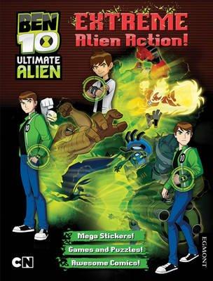 Ben 10 Ultimate Alien Extreme Alien Action! Bumper Activity Book (Paperback):