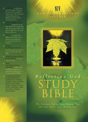 Reflecting God Study Bible - The Intimacy You've Been Longing for - The Life You've Been Hoping for (Leather / fine...
