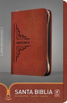 Santa Biblia Ntv, Edicion Ziper (Spanish, Leather / fine binding):