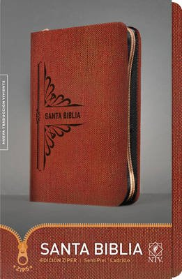 Santa Biblia Ntv, Edicion Ziper (Spanish, Leather / fine binding):