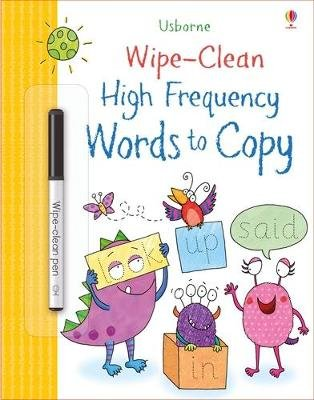 Wipe-Clean High-Frequency Words to Copy (Paperback): Watson