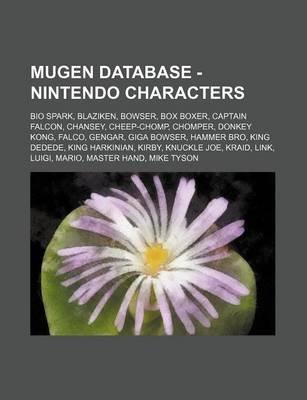 Mugen Database - Nintendo Characters - Bio Spark, Blaziken