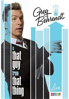 Shannon Hartman - Greg Behrendt Is That Guy From That Thing (Region 1 Import DVD): Greg Behrendt, Shannon Hartman