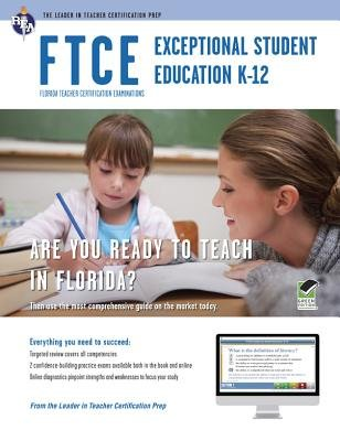 FTCE Exceptional Student Education K-12 Book + Online (Paperback): Ken Springer