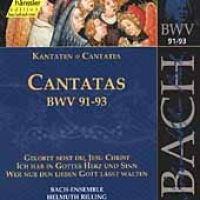 Edition Bachakademie Vol 29 - Cantatas BWV 91-93 / Rilling - Edition Bachakademie Vol 29 - Cantatas BWV 91-93 (CD): Edition...