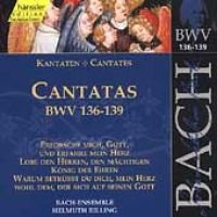 Various Artists - Edition Bachakademie Vol 43 - Cantatas BWV 136-139 (Import) (CD): Helmuth Rilling, Gächinger Kantorei...