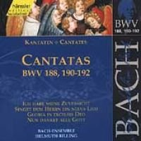 J. S Bach - Sacred Cantatas Bwv 188 190-192 (CD): J. S Bach