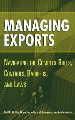 Managing Exports (Electronic book text): F. Reynolds, Frank Reynolds