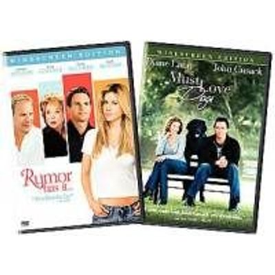 Rumor Has It/Must Love Dogs (Full Screen) (Region 1 Import DVD): Tom Hanks, Jennifer Aniston, Nora Ephron