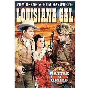 Keene Tom-Double Feature-Louisiana Gal (Region 1 Import DVD): Rita Hayworth, Tom Keene