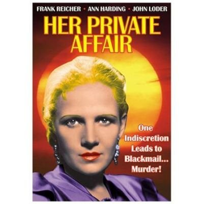 Her Private Affair (Region 1 Import DVD):