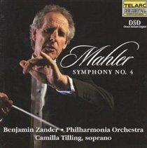 Various Artists - Symphony No. 4 (CD): Gustav Mahler, Benjamin Zander, Philharmonia Orchestra, Camilla Tilling