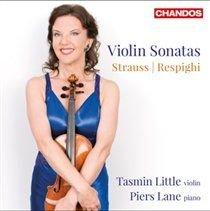 Various Artists - Strauss/Respighi: Violin Sonatas (CD): Tasmin Little, Piers Lane, Richard Strauss, Ottorino Respighi