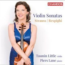 Various Artists - Strauss/Respighi: Violin Sonatas (CD): Tasmin Little, Piers Lane, Richard Strauss, Ottorino Respighi