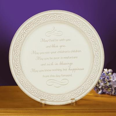 Irish Wedding Plate: