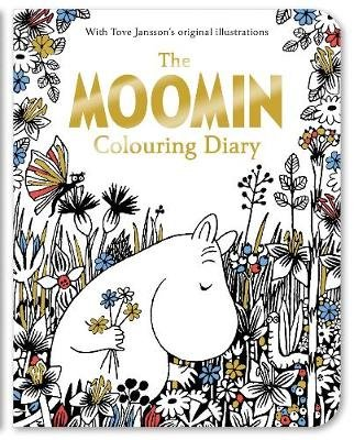 The Moomin Colouring Diary (Paperback, Main Market Ed.): Tove Jansson