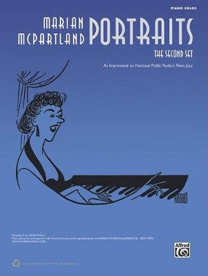 Marian McPartland Portraits: The Second Set - Piano Solos (Paperback): Alfred Publishing