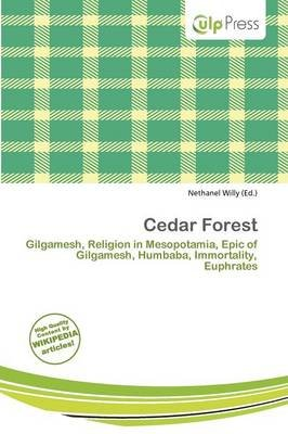 Cedar Forest (Paperback): Nethanel Willy