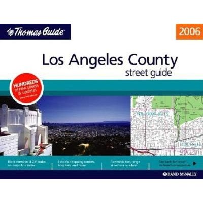 Los angeles and vicinity city map rand mcnally | maps | books.