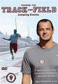 Training For Track and Field: Jumping Events (DVD): Rod Tiffin