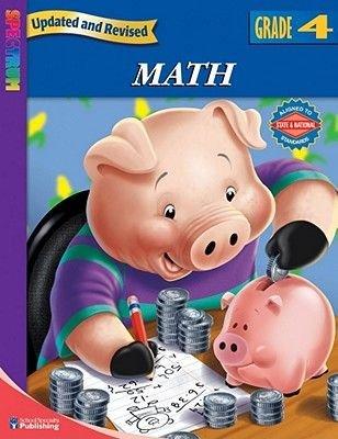 Spectrum Math, Grade 4 (Paperback, Revised): Spectrum