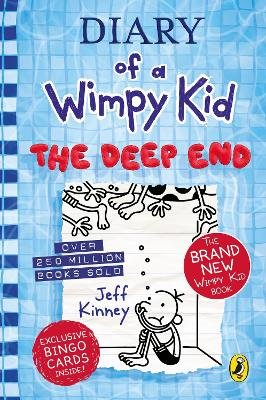 Diary Of A Wimpy Kid 15: Deep End (Hardcover): Jeff Kinney