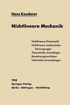 Nichtlineare Mechanik (German, Paperback, Softcover Repri): H. Kauderer
