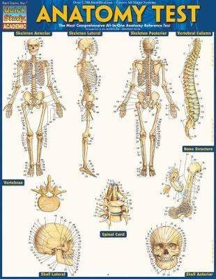 Anatomy Test Reference Guide (8.5 X 11) - For Use with Anatomy ...
