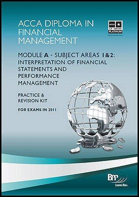 Diploma in Financial Management (DipFM) - Module A - Revision Kit (Paperback): BPP Learning Media