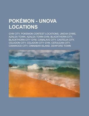 Pokemon - Unova Locations - Gym City, Pokemon Contest Locations