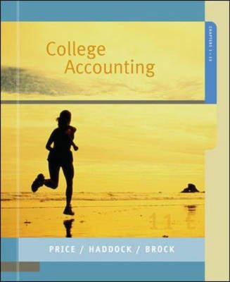 College Accounting, Chapters 1-13 (Paperback, International student edition): Horace R. Brock, John Ellis Price, M. David...