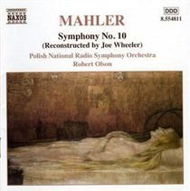 Various Artists - Mahler: Symphony No. 10 (CD): Polish National Radio Symphony Orchestra, Gustav Mahler, Robert Olson