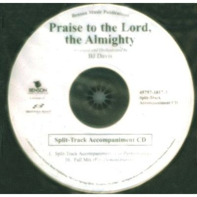 Johnathan Crumpton - Praise to the Lord, the Almighty (CD): Johnathan Crumpton