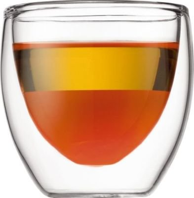Bodum Pavina Double Wall Glass (Set of 2)(0.08L):