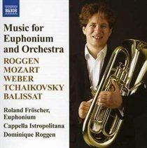 Various Composers - Music for Euphonium and Orchestra (Roggen) (CD): Various Composers