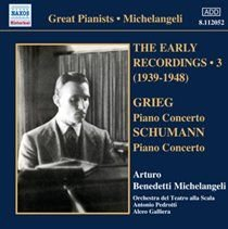 Various Artists - Grieg: Piano Concerto/Schumann: Piano Concerto (CD): Edvard Grieg, Robert Schumann, Arturo Benedetti...