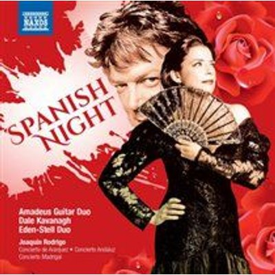 Various Artists - Spanish Night (CD): Joaquín Rodrigo, Horst-Hans Backer, Dale Kavanagh, Amadeus Guitar Duo, Eden-Stell Guitar...