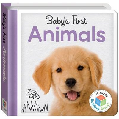 Building Blocks Animals Baby's First Padded Board Book (Novelty book):