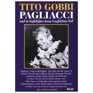 Various Artists - TITO GOBBI IN PAGLIACCI & HLTS FROM GUGLIELMO (Region 1 Import DVD): Tito Gobbi, Afro Poli, Gina Lollobrigida