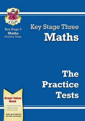 KS3 Maths Practice Tests (Paperback, 2nd Revised edition): CGP Books