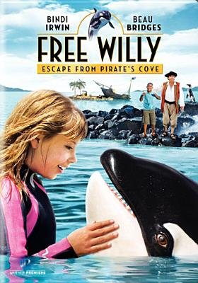 Free Willy 4-Escape From Pirates Cove (Region 1 Import DVD): Bindi Irwin, Beau Bridges, Will Geiger