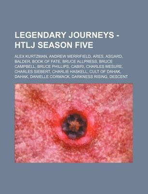 Legendary Journeys - Htlj Season Five - Alex Kurtzman, Andrew Merrifield, Ares, Asgard, Balder, Book of Fate, Bruce Allpress,...