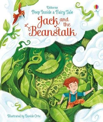 Peep Inside a Fairy Tale Jack and the Beanstalk (Board book): Anna Milbourne